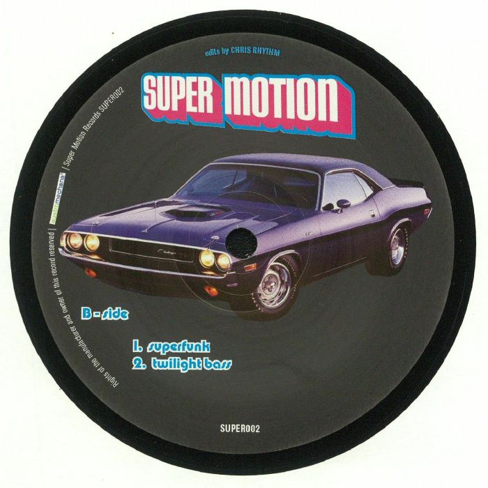 CHRIS RHYTHM - The Funk Zone EP
