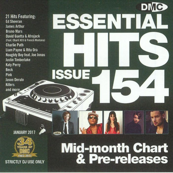 VARIOUS - DMC Essential Hits 154 (Strictly DJ only)