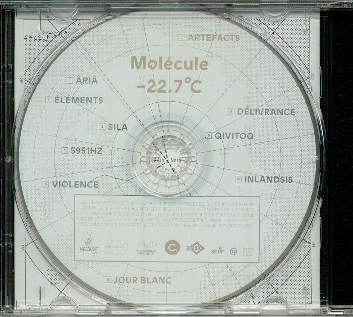 MOLECULE - Minus 22.7 Degrees Celcius