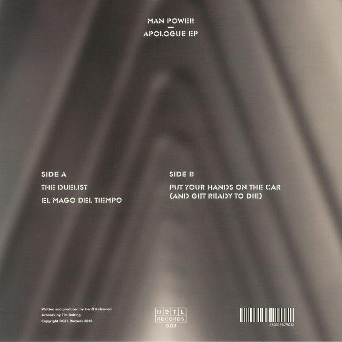 MAN POWER - Apologue EP