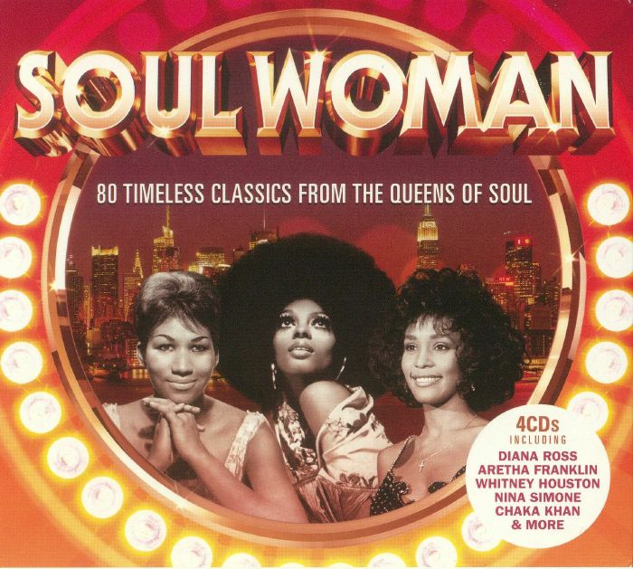 VARIOUS - Soul Woman: 80 Timeless Classics From The Queens Of Soul
