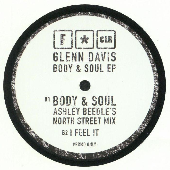 DAVIS, Glenn - Body & Soul EP