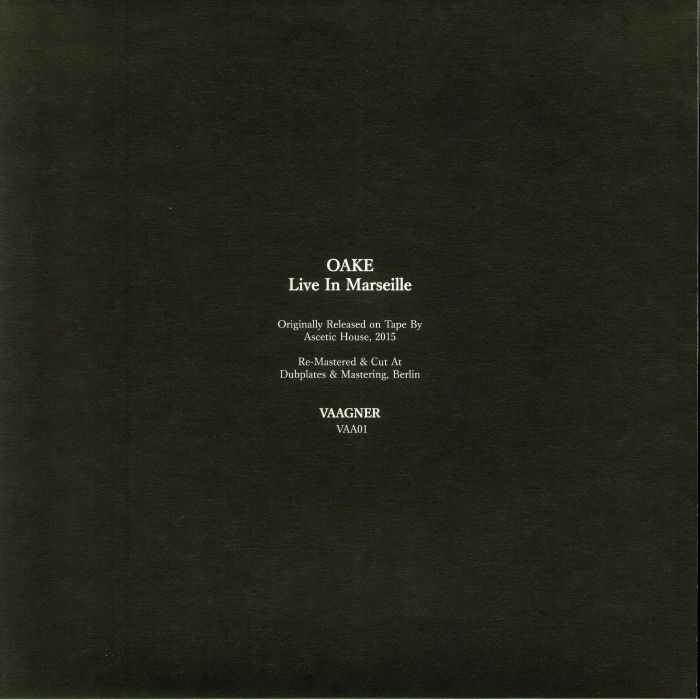 OAKE - Live In Marseille (remastered)