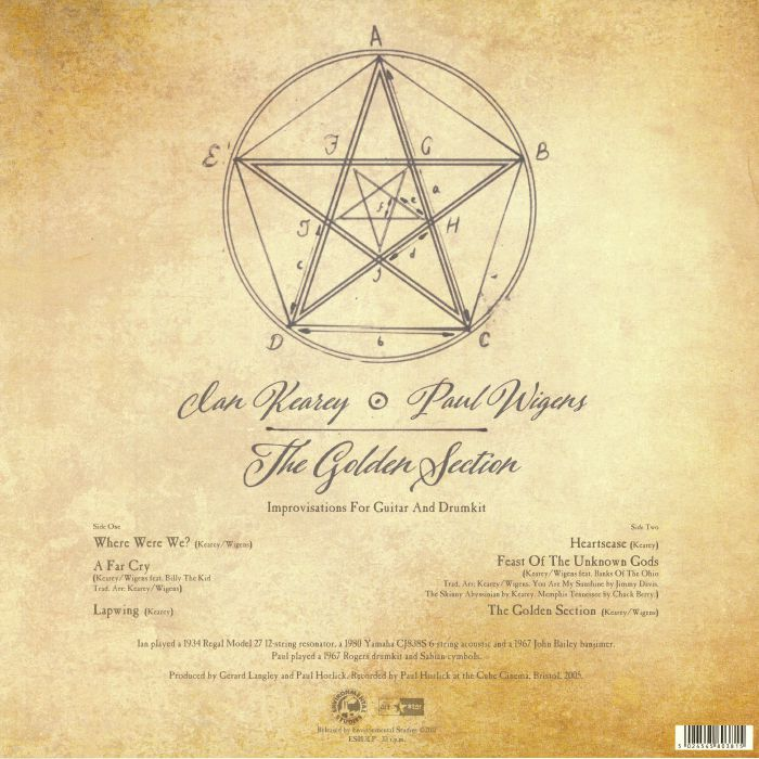 KEAREY, Ian/PAUL WIGENS - The Golden Section