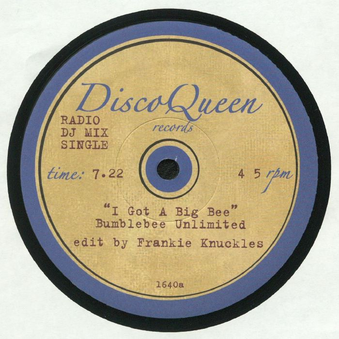 BUMBLEBEE UNLIMITED/THE TRAMMPS - Frankie Knuckles Edits: Disco Queen #1640