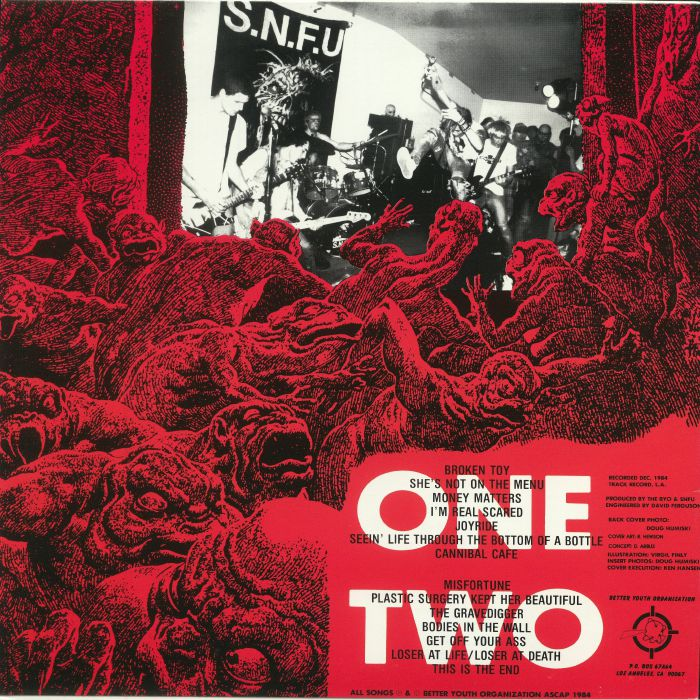 SNFU - And No One Else Wanted To Play