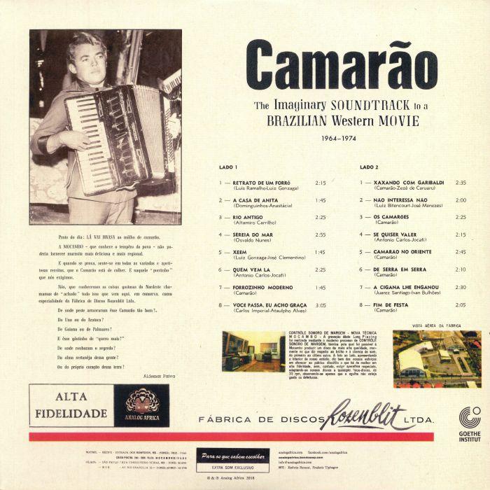 CAMARAO - The Imaginary Soundtrack To A Brazilian Western Movie 1964-1974