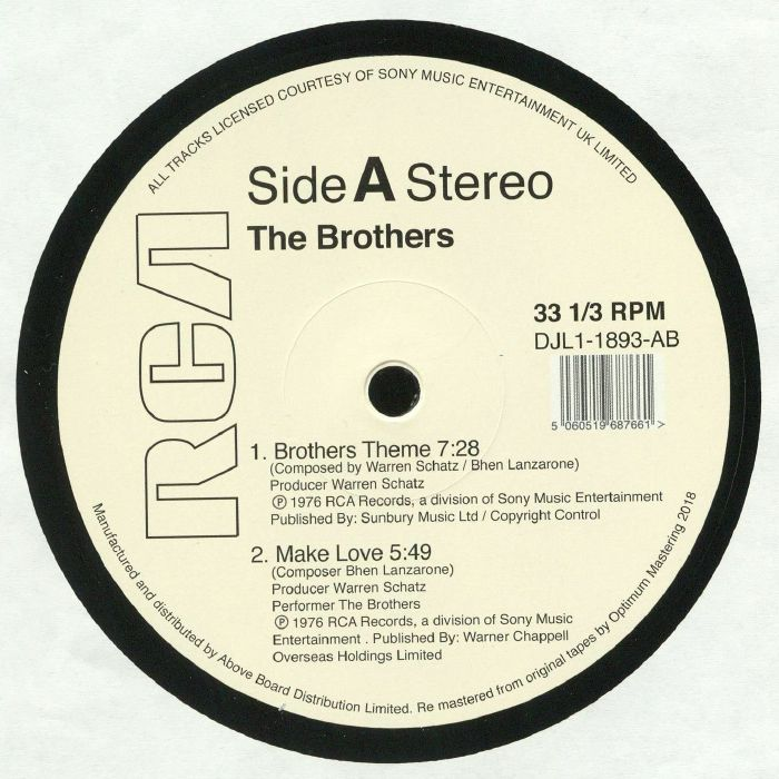 BROTHERS, The - Brothers Theme (remastered)