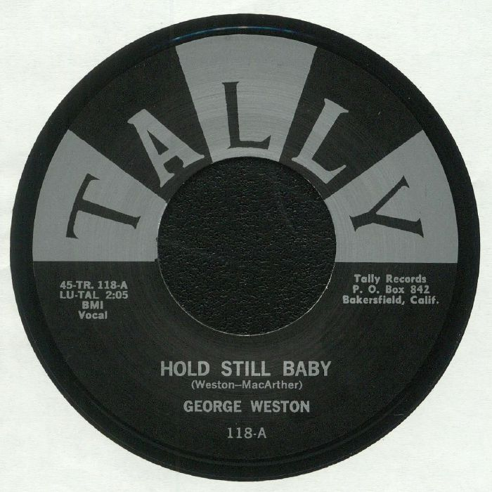 WESTON, George - Hold Still Baby