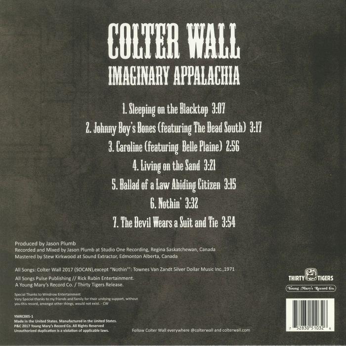Imaginary Appalachia Colter Wall: Juno RecordsのImaginary Appalachia