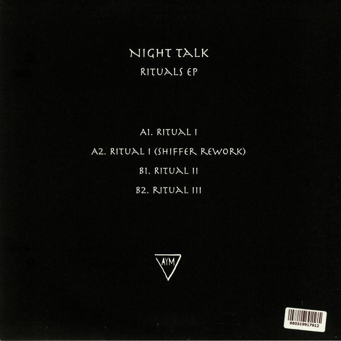 NIGHT TALK - Rituals EP