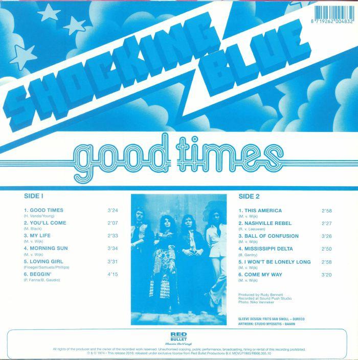 SHOCKING BLUE - Good Times (remastered)