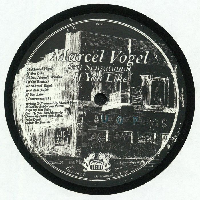 VOGEL, Marcel - If You Like (feat Patchworks & Alma Negras's Wisdom Of Oz remixes)