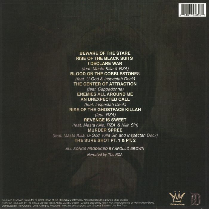 GHOSTFACE KILLAH/APOLLO BROWN - The Brown Tape