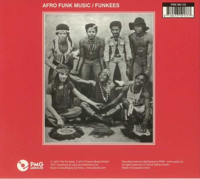 FUNKEES, The - Point Of No Return: Afro Funk Music