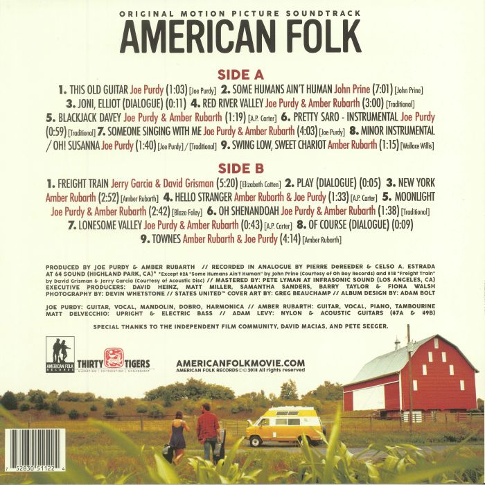 VARIOUS - American Folk (Soundtrack)