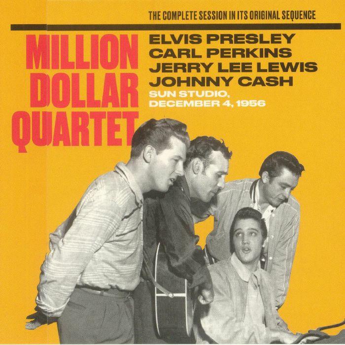PRESLEY, Elvis/CARL PERKINS/JERRY LEE LEWIS/JOHNNY CASH - Million Dollar Quartet (remastered)