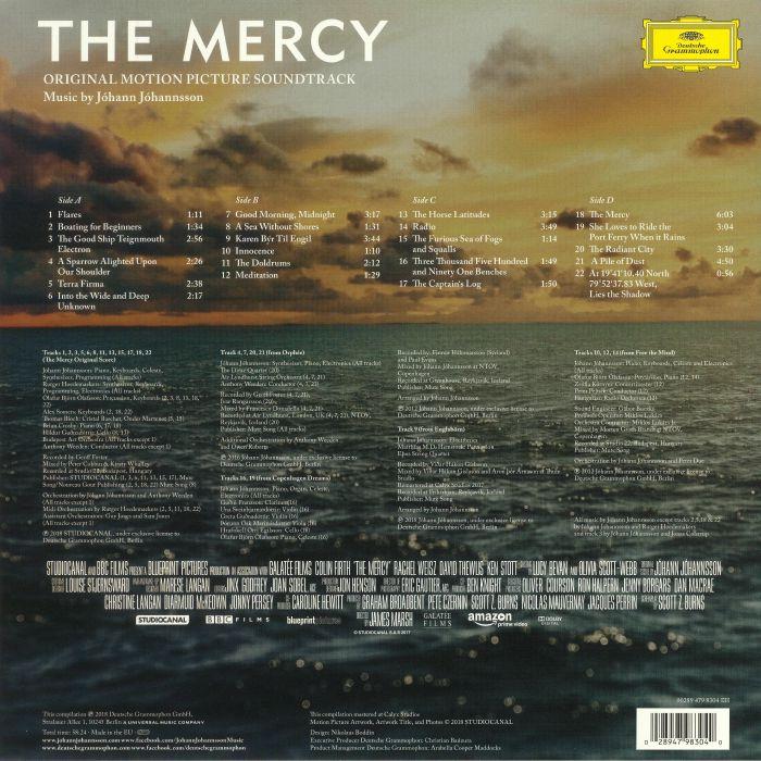 JOHANNSSON, Johann - The Mercy (Soundtrack)