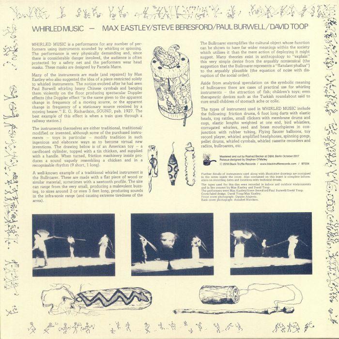 EASTLEY, Max/STEVE BERESFORD/PAUL BURWELL/DAVID TOOP - Whirled Music