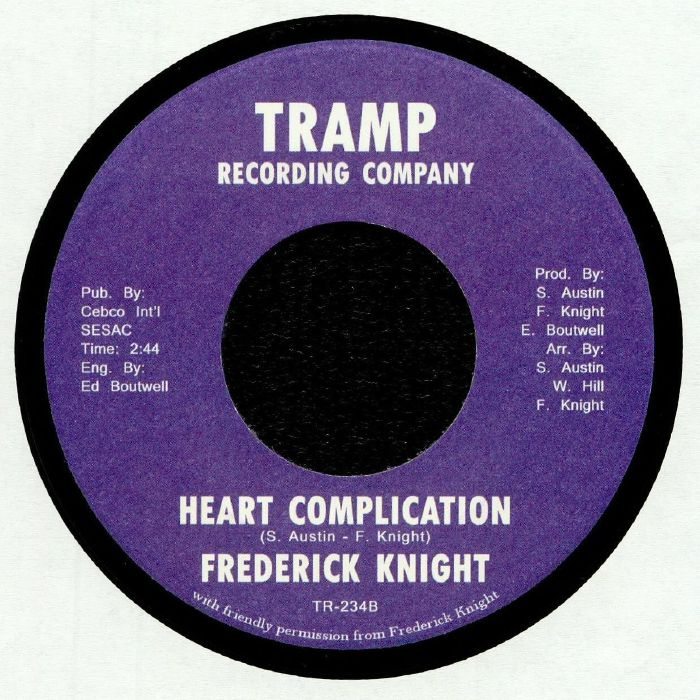 KNIGHT, Frederick - Steppin Down