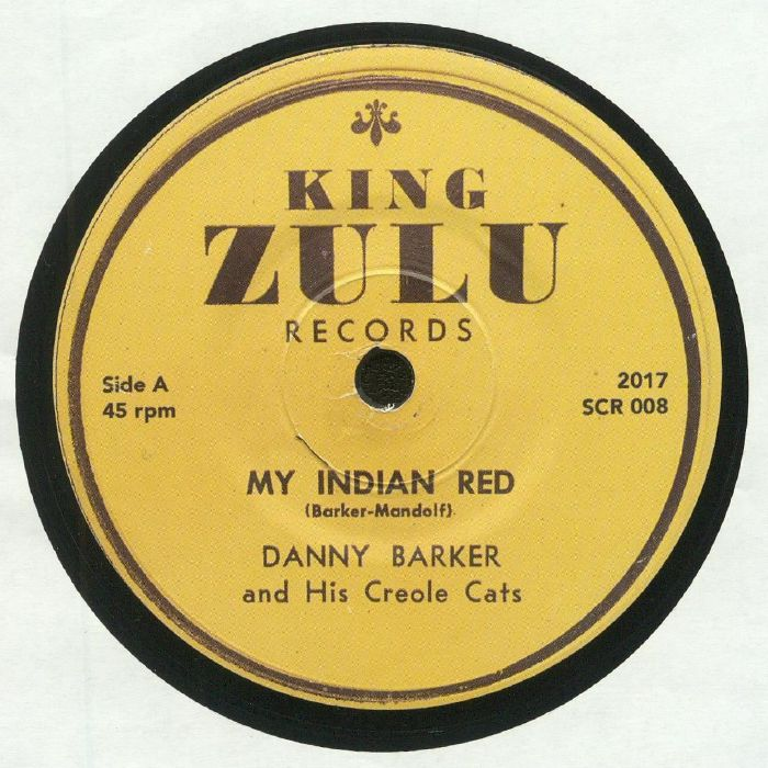 BARKER, Danny & HIS CREOLE CAT - My Indian Red