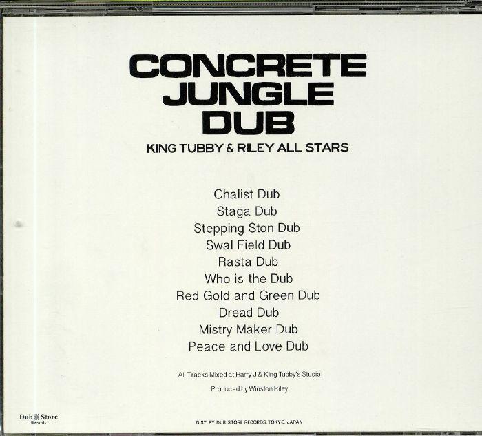 KING TUBBY/RILEY ALL STARS - Concrete Jungle Dub