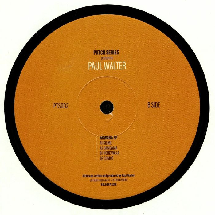 WALTER, Paul - Akwaba EP