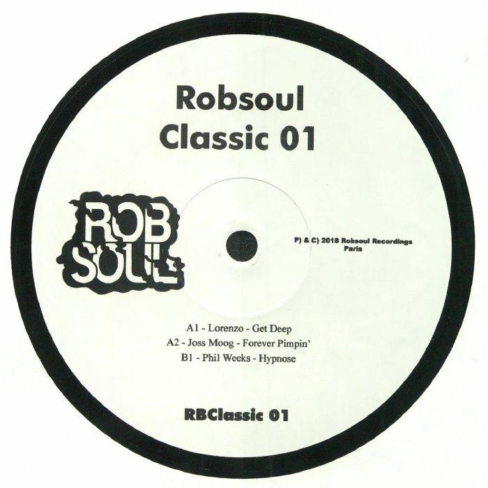 LORENZO/JOSS MOOG/PHIL WEEKS - Robsoul Classic 01