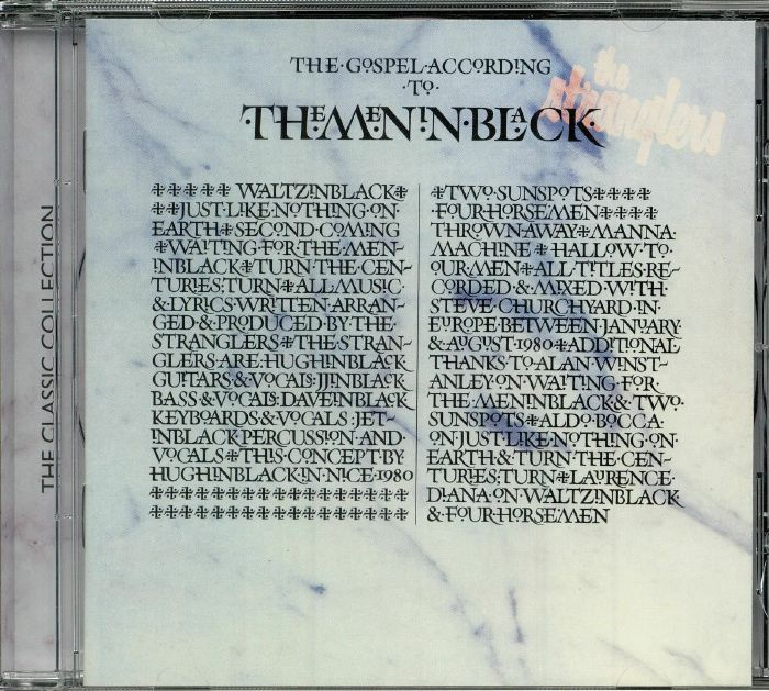 STRANGLERS, The - (The Gospel According To) The Meninblack (reissue)