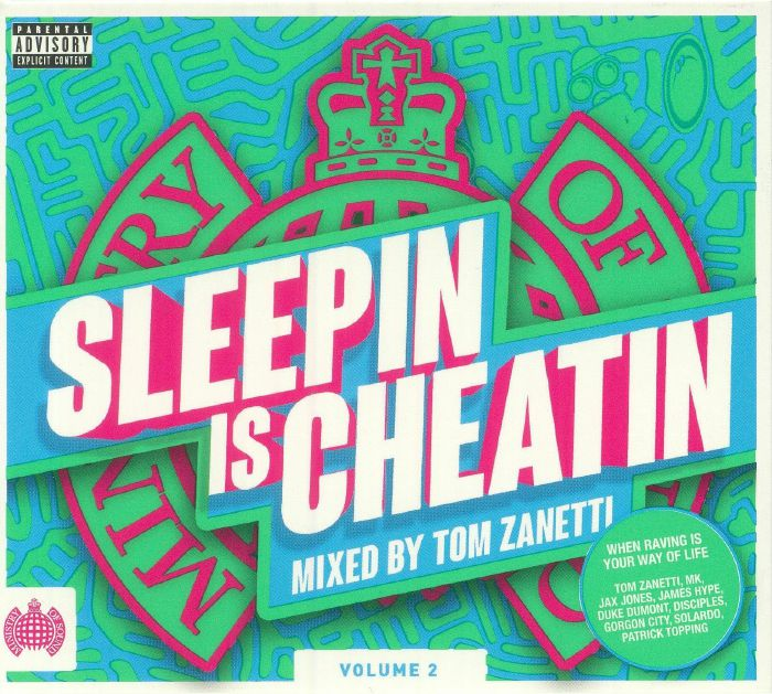 ZANETTI, Tom/VARIOUS - Sleepin Is Cheatin: Volume 2