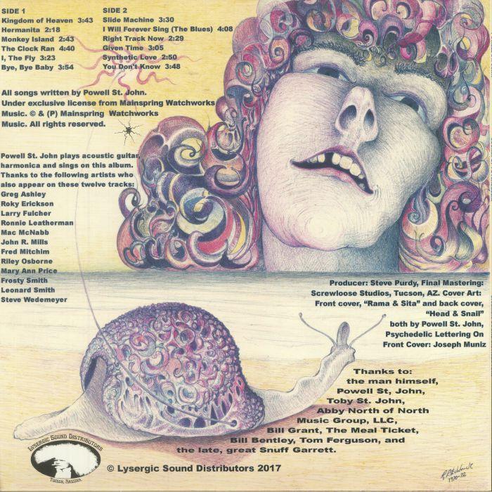 Powell ST JOHN Sultan Of Psychedelia vinyl at Juno Records