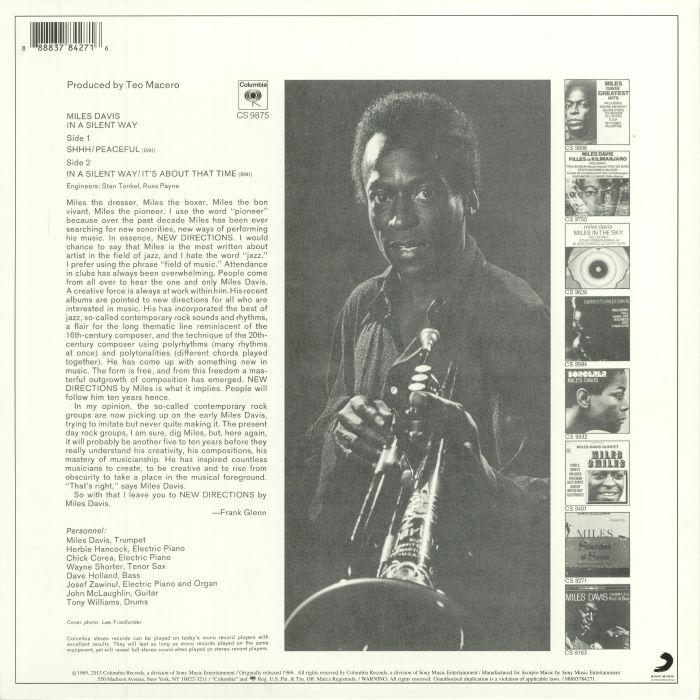 DAVIS, Miles - In A Silent Way (reissue)