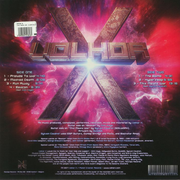 VOLKOR X - This Means War