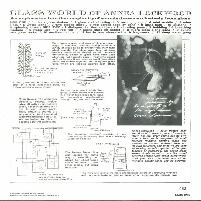 LOCKWOOD, Annea - Glass World Of Annea Lockwood