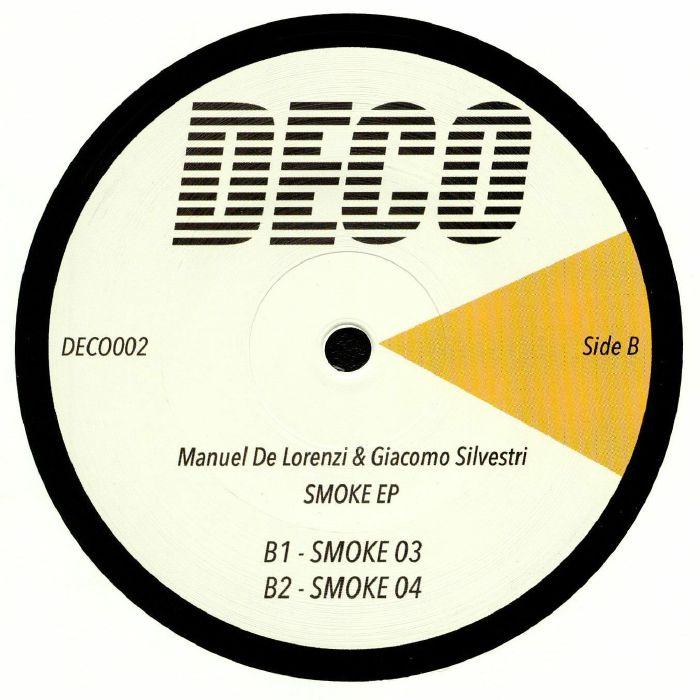 DE LORENZI, Manuel/GIACOMO SILVESTRI - Smoke EP