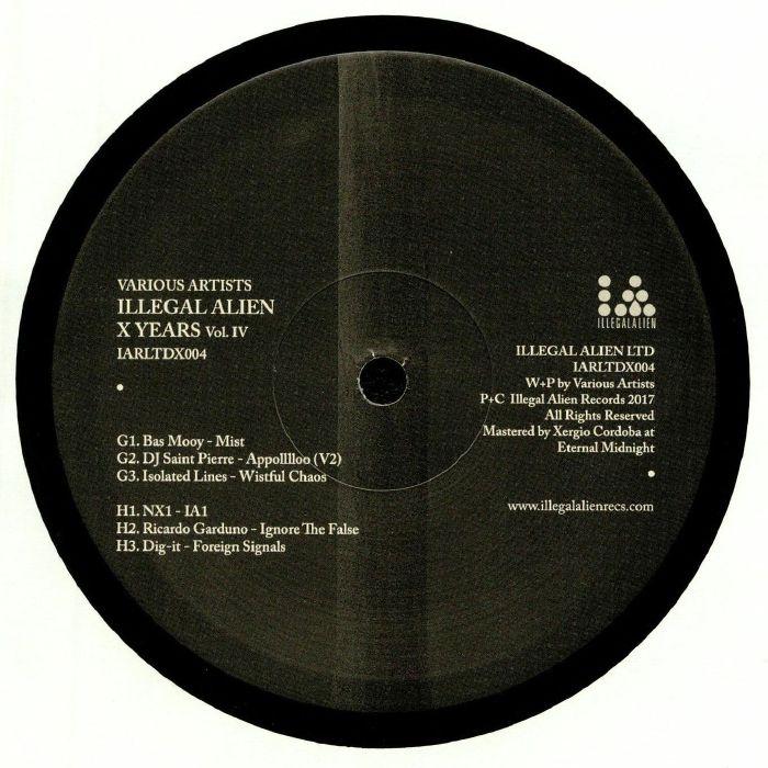 MOOY, Bas/DJ SAINT PIERRE/ISOLATED LINES/NX1/RICARDO GARDUNO/DIG-IT - Illegal Alien X Years Vol 4