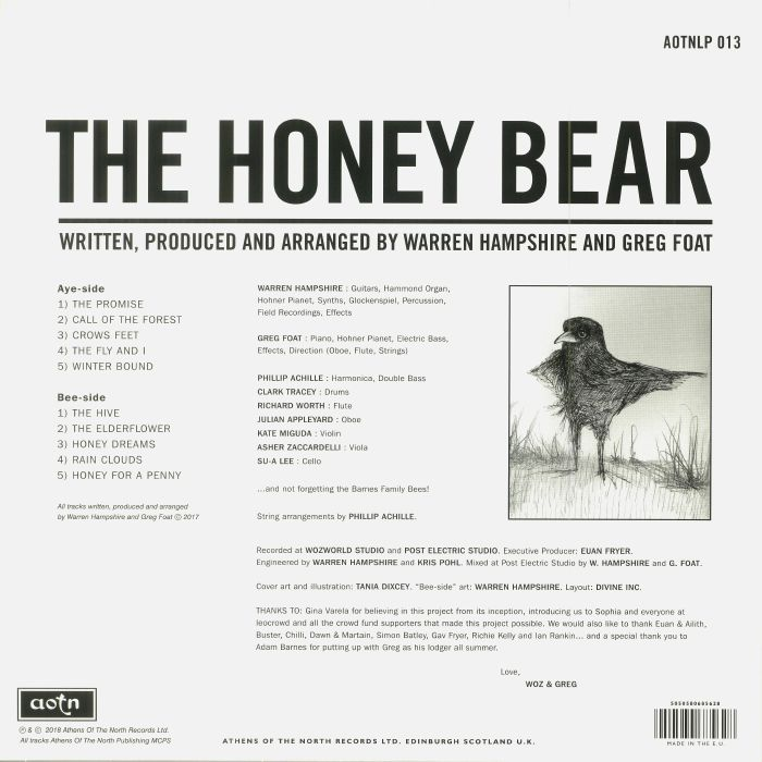 HAMPSHIRE/FOAT - The Honey Bear