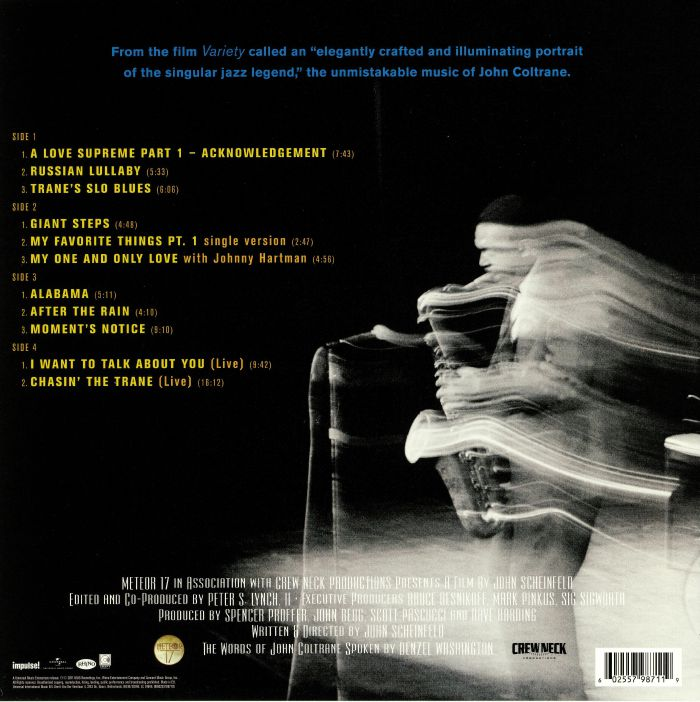 COLTRANE, John - Chasing Trane: The John Coltrane Documentary (Soundtrack)
