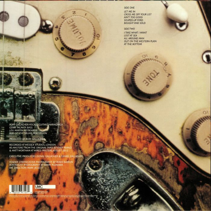 GALLAGHER, Rory - Against The Grain (reissue)