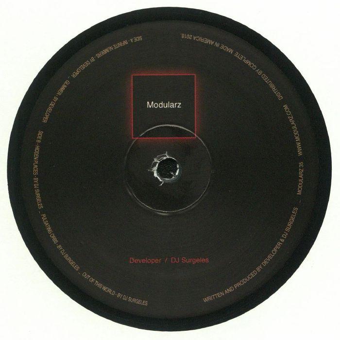 DEVELOPER/DJ SURGELES - The Mercurian Particle