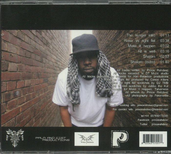 PRINCE RAHDEAZ - The Hunger EP