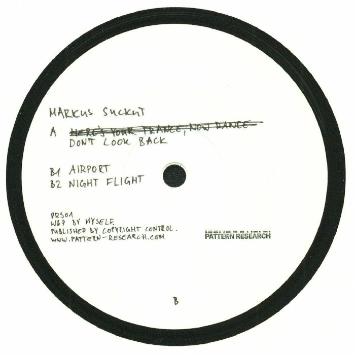 SUCKUT, Markus - Don't Look Back EP