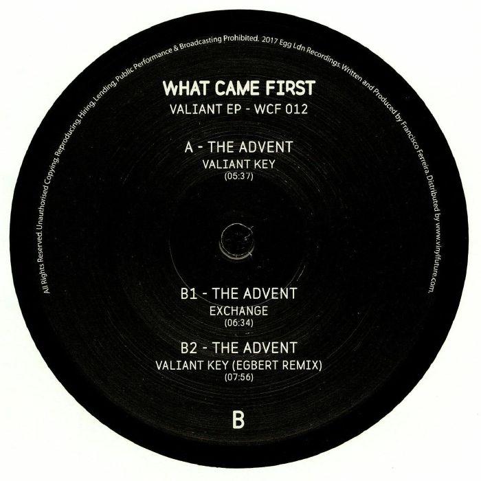 ADVENT, The - Valiant EP
