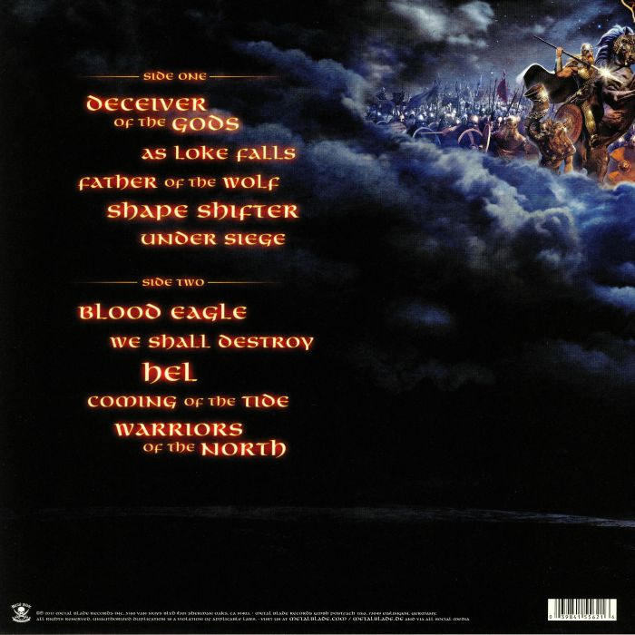 AMON AMARTH - Deceiver Of The Gods (reissue)