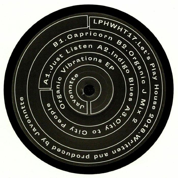 JAVONNTTE - Organic Vibrations EP