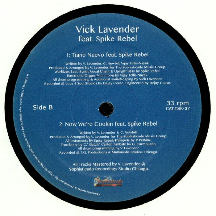LAVENDER, Vick feat SPIKE REBEL - Consequencies EP