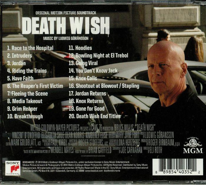 GORANSSON, Ludwig - Death Wish (Soundtrack)