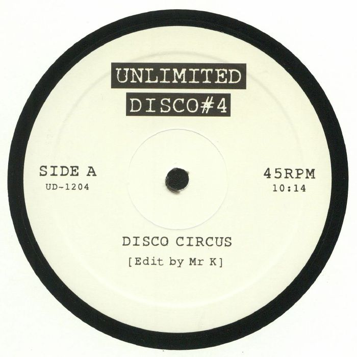 UNLIMITED DISCO - Unlimited Disco #4