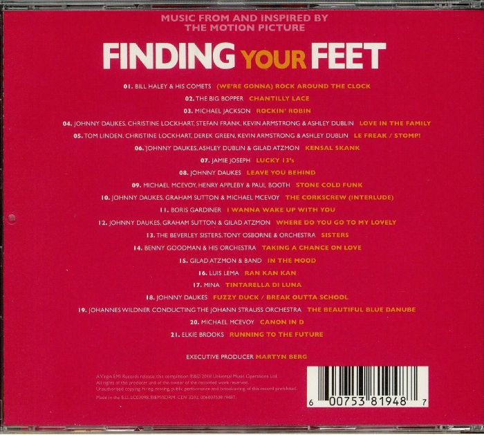 VARIOUS - Finding Your Feet (Soundtrack)