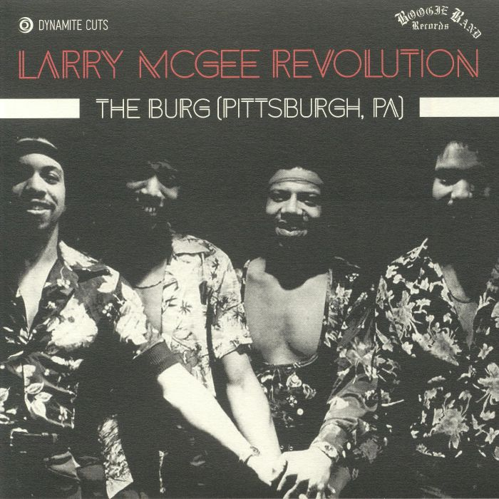 LARRY McGEE REVOLUTION - The Burg (Pittsburgh PA)